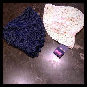 NWT set of Spring/Summer hats - Gymboree &Cherokee